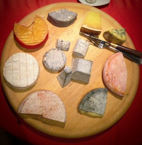 Le plateau de fromages Lion d'Or